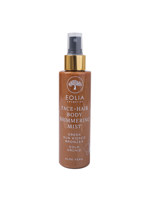 FACE - HAIR & BODY MIST SHIMMER GREEK SUNKISSED BRONZE GOLD ORCHID